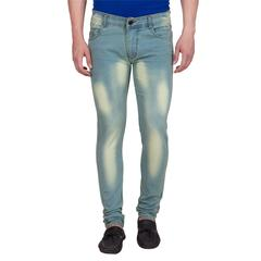 American-Elm Pack of 2 Men's Slim Fit Stretchable Jeans