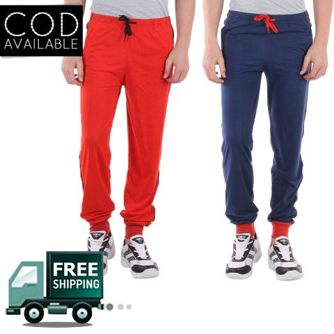 SLS Combo Of 2 Men's Regular Fit Track Pant