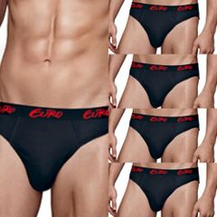 Rupa Euro Micra Brief 5Pc Pack For Men Assorted Color