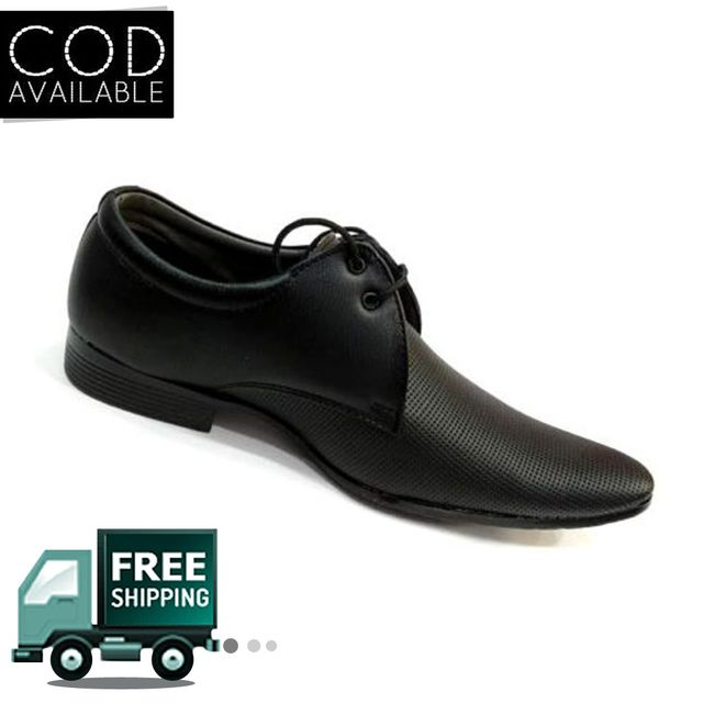 Hazat Stylish Flux Leather Formal/Casual Brogue Shoes For Men
