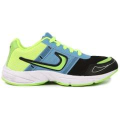 Delux Look Branded Men's Green Sports Running Sports Shoes
