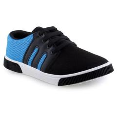 Delux Look Combo of 2 Branded Men's Blue Casual Shoes