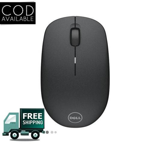 Dell Wm126 Wireless Optical Mouse(Usb, Black)