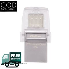 Kingston Dtduo3C/64Gb in 64 Gb Pen Drive(Grey)