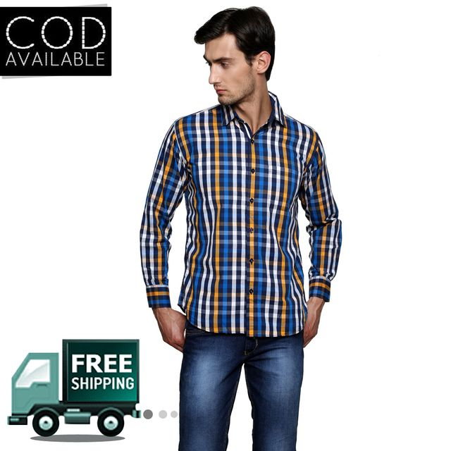 Lee Marc Multicolor Checkered Casual Shirt