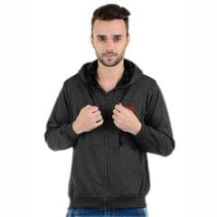 K-west Pack of 2 Multicolor Solid Hooded Sweatshirts