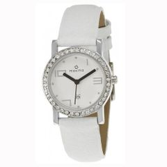 Maxima Attivo Analog White Dial Women's Watch-27120LMLI