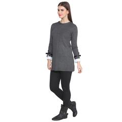 Lee Marc Women's Full Sleeve Woolen Long Top