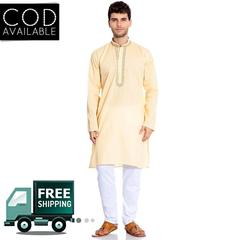 KP Men's Kurta And Pajama Set