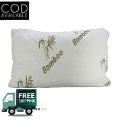 Kawachi Shredded Pillow With Miracle Bamboo Hypoallergenic Memory Foam Cover