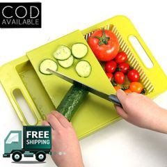 Kawachi 3 In 1 Kitchen Sink Cutting Board