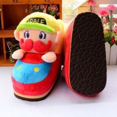 Plush Mario Winter Shoes