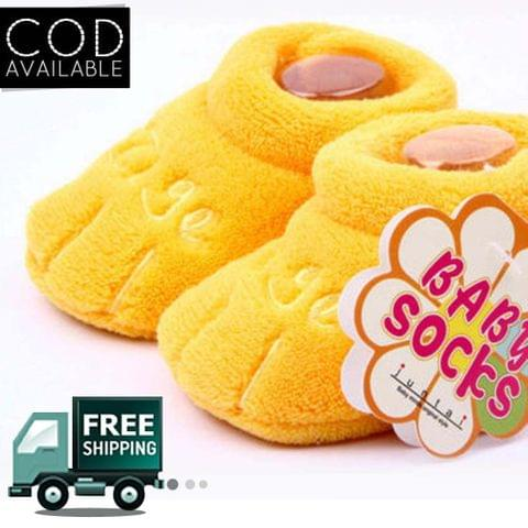 Baby Plush Paw Shoes