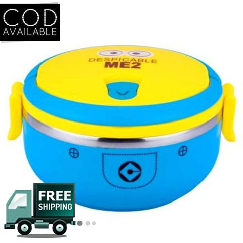 Minion 1 Layer Lunch Box