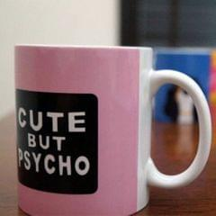 Cute But Psycho Coffee Mug