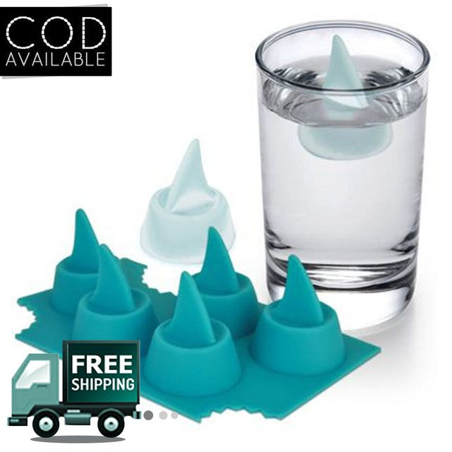 Shark Fin Shaped Ice Tray