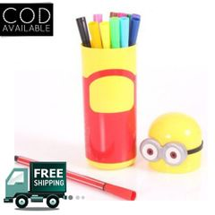 Minion Set Of 12 Pens Art Box