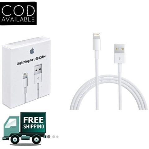 Apple 5s USB Cable White