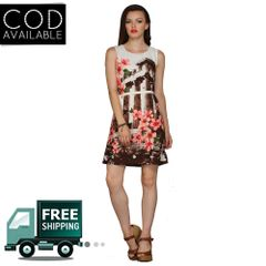 Fashion Shoppe Superb Women's Multicolor Midi