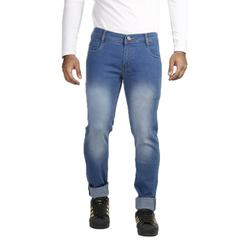Vrgin Combo Of 3 Men's Slim Fit Stretchable Jeans With Wallet