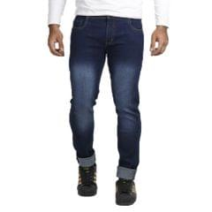 Vrgin Combo Of 3 Men's Slim Fit Stretchable Jeans With Belt