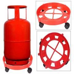 Axtry Gas Cylinder Trolley With Wheels