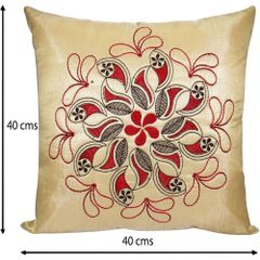 Stuff N' Fluff Set Of 5 Polyester Cushion Cover