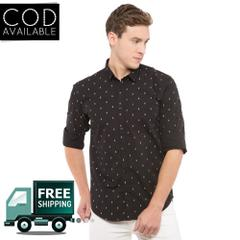KP Men's Casual Printed Shirt