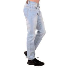 Mascari Ice Blue Rugged Jeans