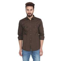 Lee Marc Men's Combo Of 2 Casual Shirts