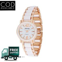 Gemini Gold Designer Analog Silver Gold Stainless Steel Watch For Women