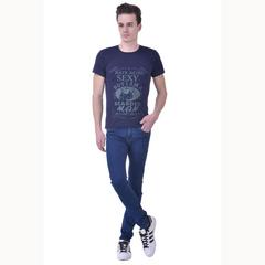 Stylogue Men's Trendy Round Neck T-shirt