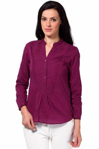 Shirt In Cotton Voile Fabric /TSF2129