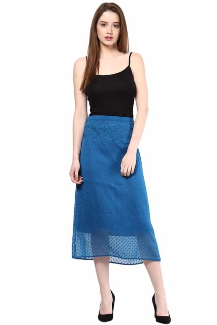 Skirt In Solid/SKF350070