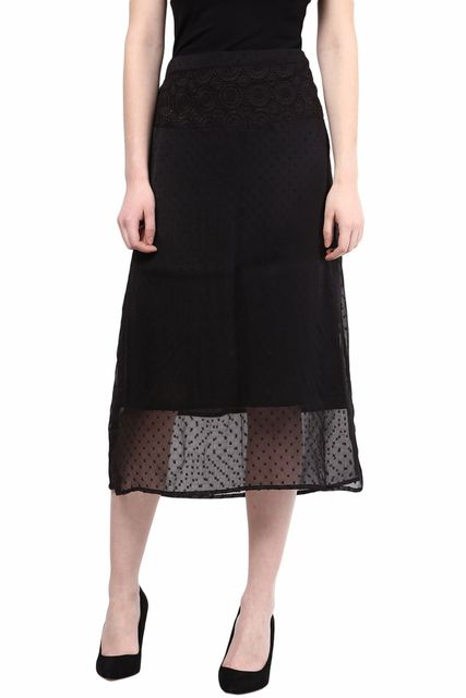 Skirt In Solid/SKF350071