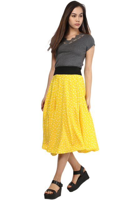 Skirt In Polka Dot /SKF350074