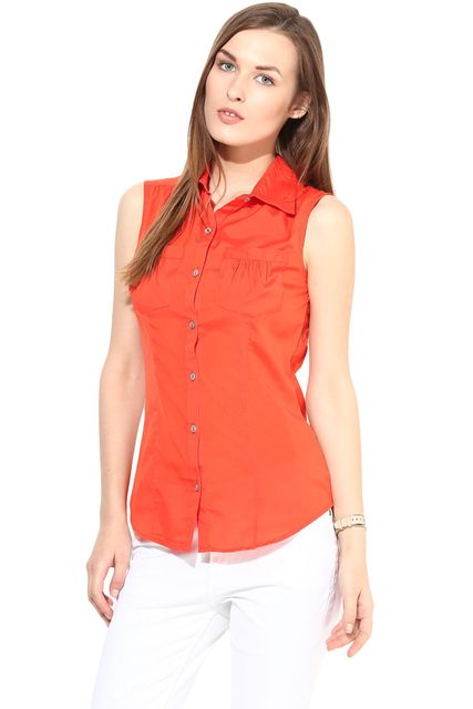 Casual Solid Top-TSF400192