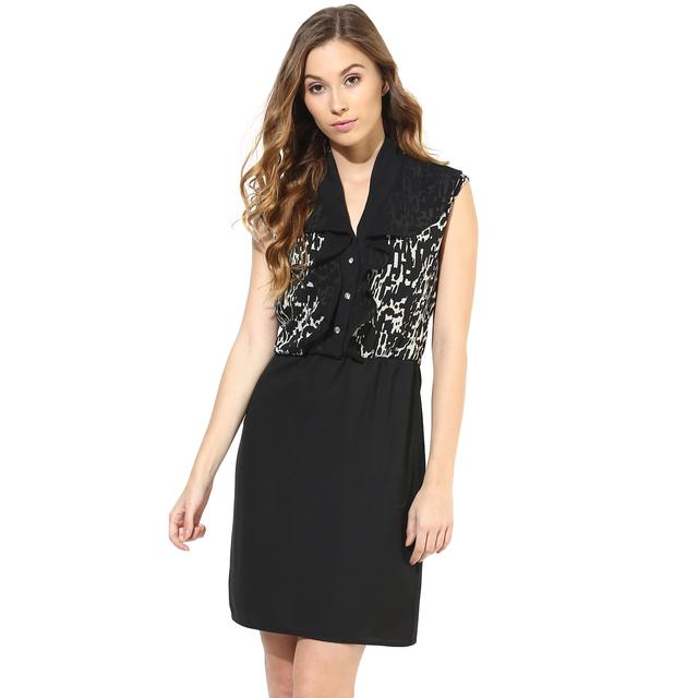 Casual Dress In Printed Fabric/DRF500217