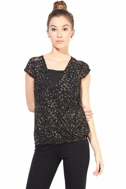 Casual Top In Printed Fabric/TSF400340