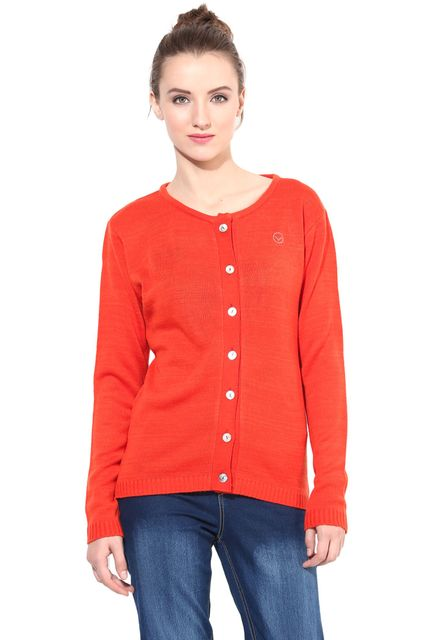 Orange Round Neck Line/SWF460029
