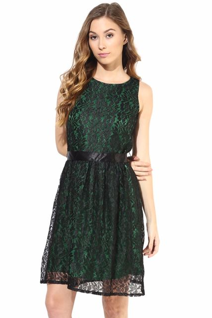 Casual Lace Dress/ DRF500257