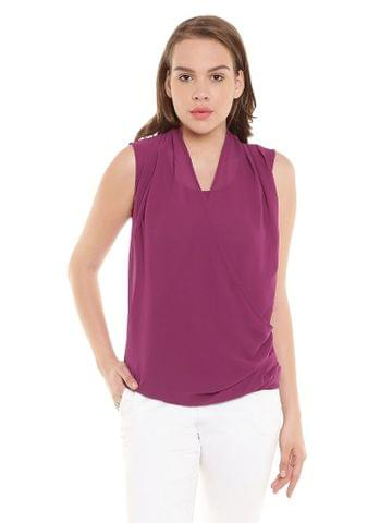 Marsala Top In Ggt Fabric/ TSF400267