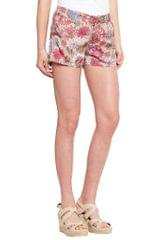 SHORT SKIRT IN FLORAL PRINT/ SKF2503