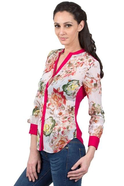 Full Sleeve Printed Shirt /TSF3470