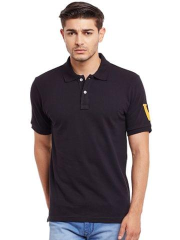 Polo T-Shirt In Black Color /TSM840023
