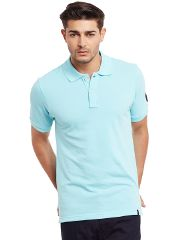 Polo T-Shirt In Sky Blue Color /TSM840025