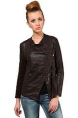 100% Pure Soft Lamb Brown Leather Jacket /JKF1370
