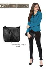 Solid Teal Quilted Classic Jacket/ STL450214