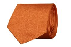 SCHARF Active Glowing Rust Slim Tie