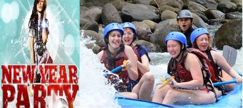 NEW YEAR PARTY WITH CAMPING AND RIVER RAFTING IN RISHIKESH ( 2 DAYS AND 1 NIGHT)